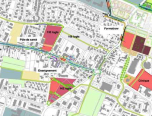 Deux énormes projets boulevard de la Paix
